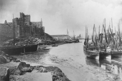 Peel Harbour and Castle