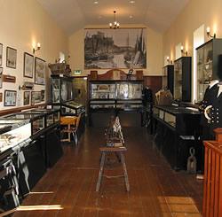 Leece museum interior