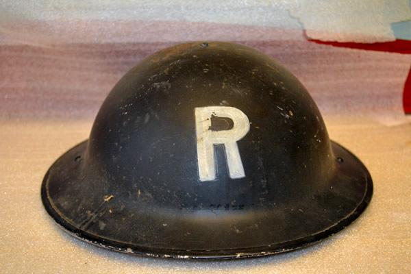 Civil Defence Brodie Helmet
