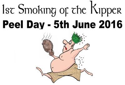 1st smoking of the kipper