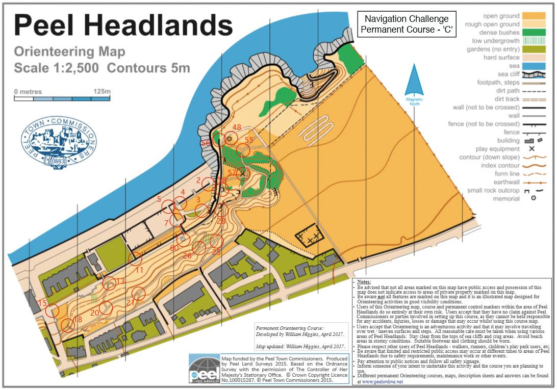Headlands course C