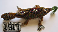 Beaded lizard from Knockaloe