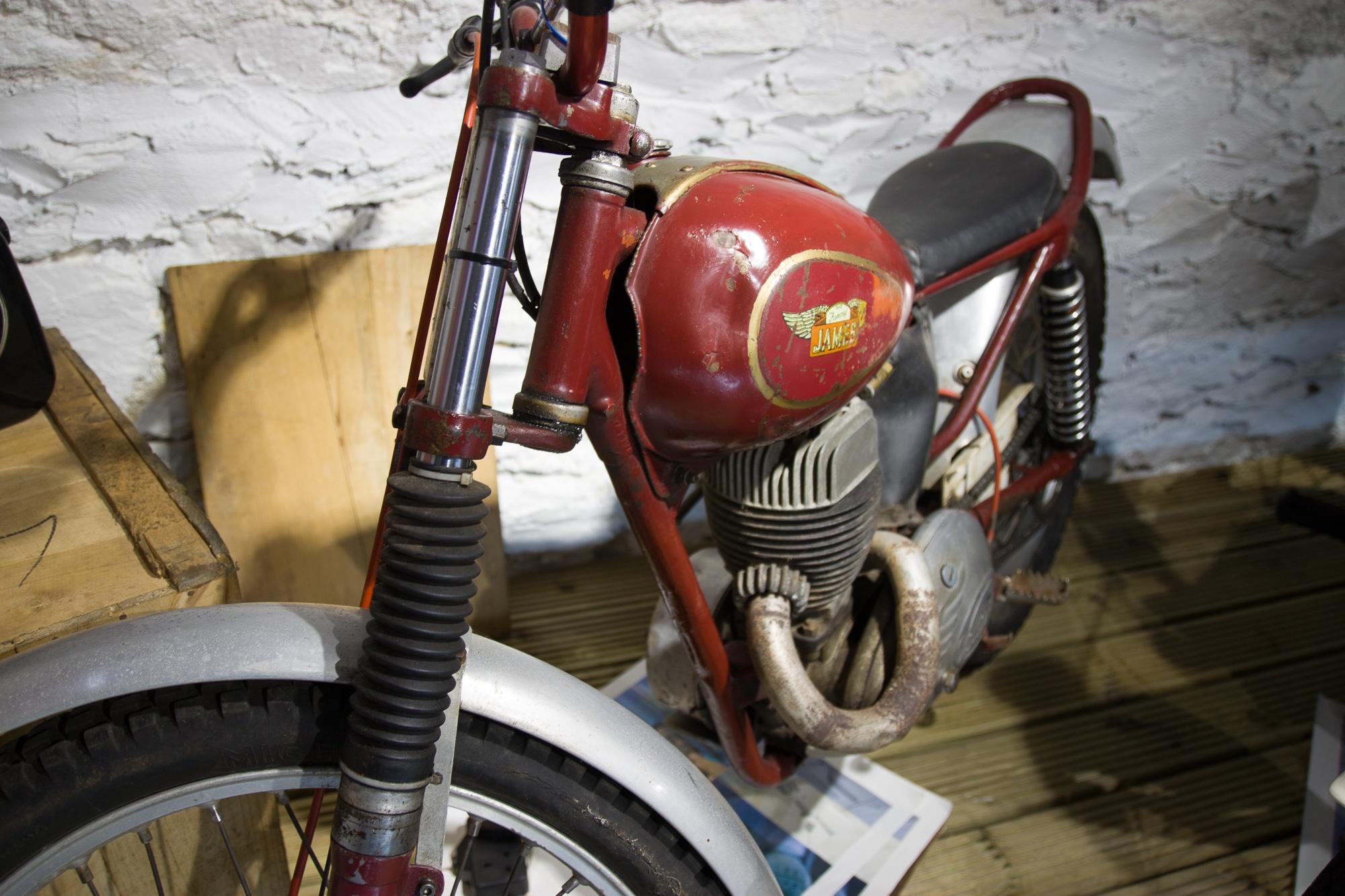 James Commando Trials Bike 197cc