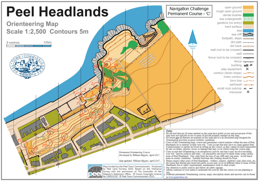 Headlands course C