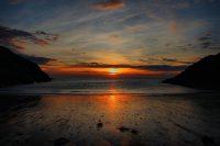 Peel Fenella beach, by Dave Corkish
