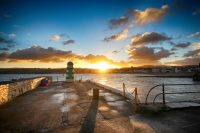 Nice start to the day, by Dave Corkish