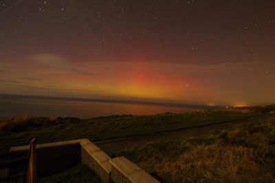 Aurora from Peel Headlands, by Dave Corkish