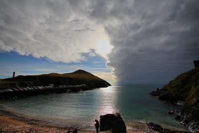 Sky clearing, Sunday afternoon, by Dave Corkish