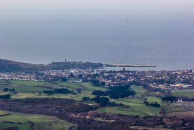 A shot of Peel from up The Cairn, by Paul Smith