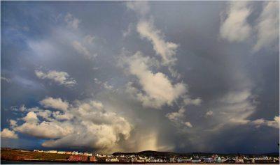 More big skies over Peel, by Dave Corkish