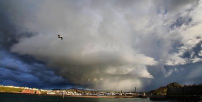 Big skies on election day over Peel