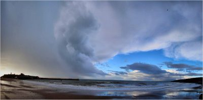 After the hail shower, by Dave Corkish