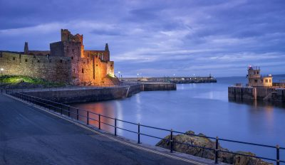 Peel Castle by Martin Kellett