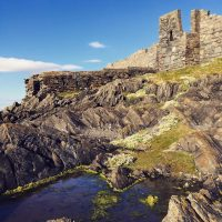 Rockpool behind the Castle, by Chris Littler (non competitive)