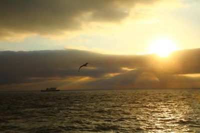 Ben My Chree off Peel, by Dave Corkish