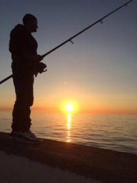 Fishing in Peel by Jasmine Qualtrough