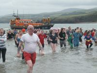 New year dip, by John Kerruish