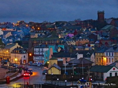 Peel dusk, looking colourful, by Tracey Killey