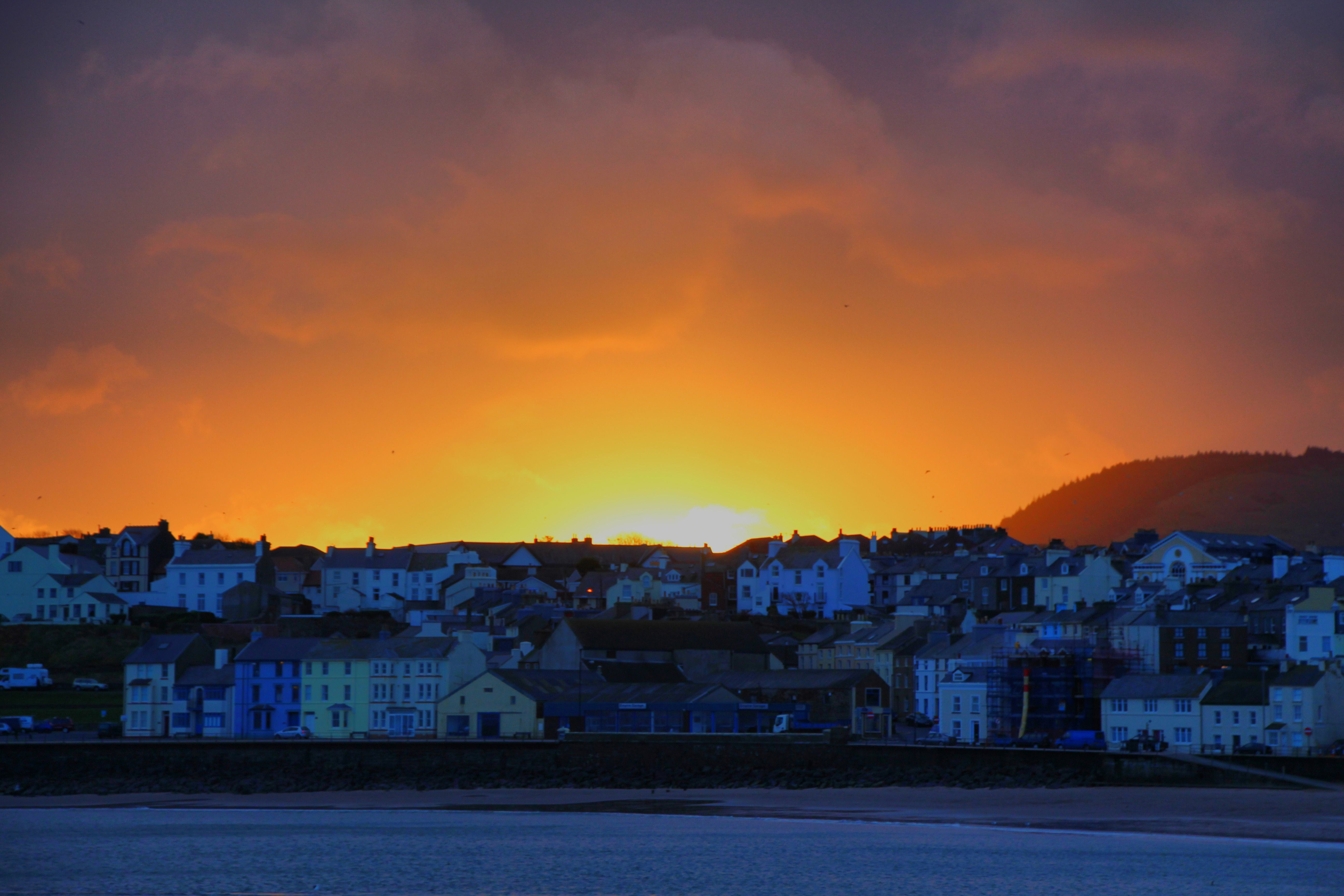 2nd Prize: Sunrise from the breakwater, by Dave Corkish