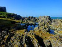 Castle rock pools, by Lynn Chambers