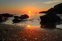Fenella sunset by John Bennett
