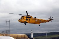 Sea King helicopter, by Dave Corkish