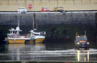 Lifeboat tractor practice, by Tony Faragher
