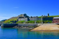 Eye-catching Peel Castle, by Ashley Duffy