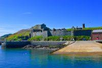 Eye-catching Peel Castle, by Ashley Duffy