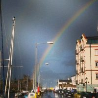 Peel..... is there a pot pot of gold in the castle?, by Scott Filbey