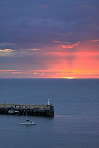 August Sunset, by Tony Faragher