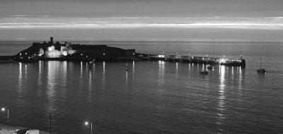 Night arrival, by Tony Faragher