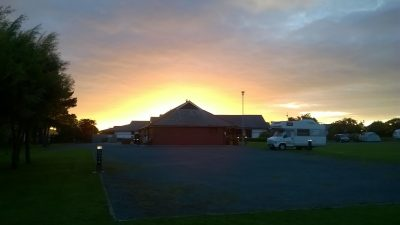 Sunset at Peel Campsite, by James Jackson