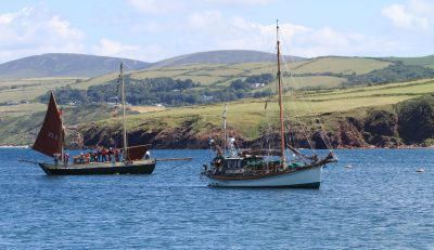 Traditional boat festival, by Beryl Quayle