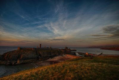 Peel Castle, by Dave Corkish