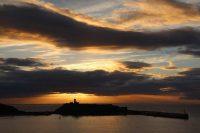 Cloud skies over Peel Bay. By Dave Corkish