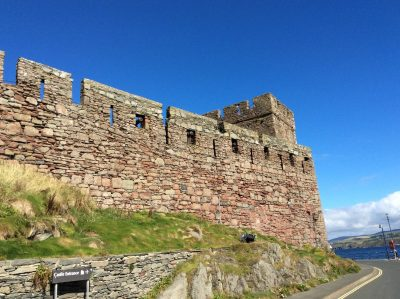 Blue skies and castles, by Mandy Wise