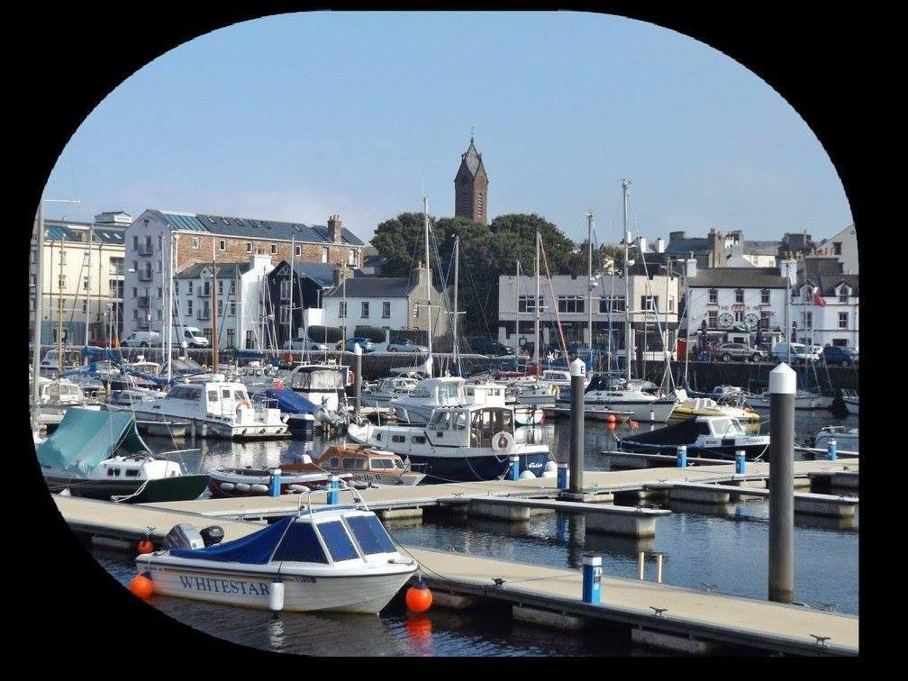 The Marina looking like somewhere on the 'Med', by Norman Kneen