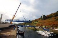 Harbour Road Bridge Construction - photo copyright Dave Corkish
