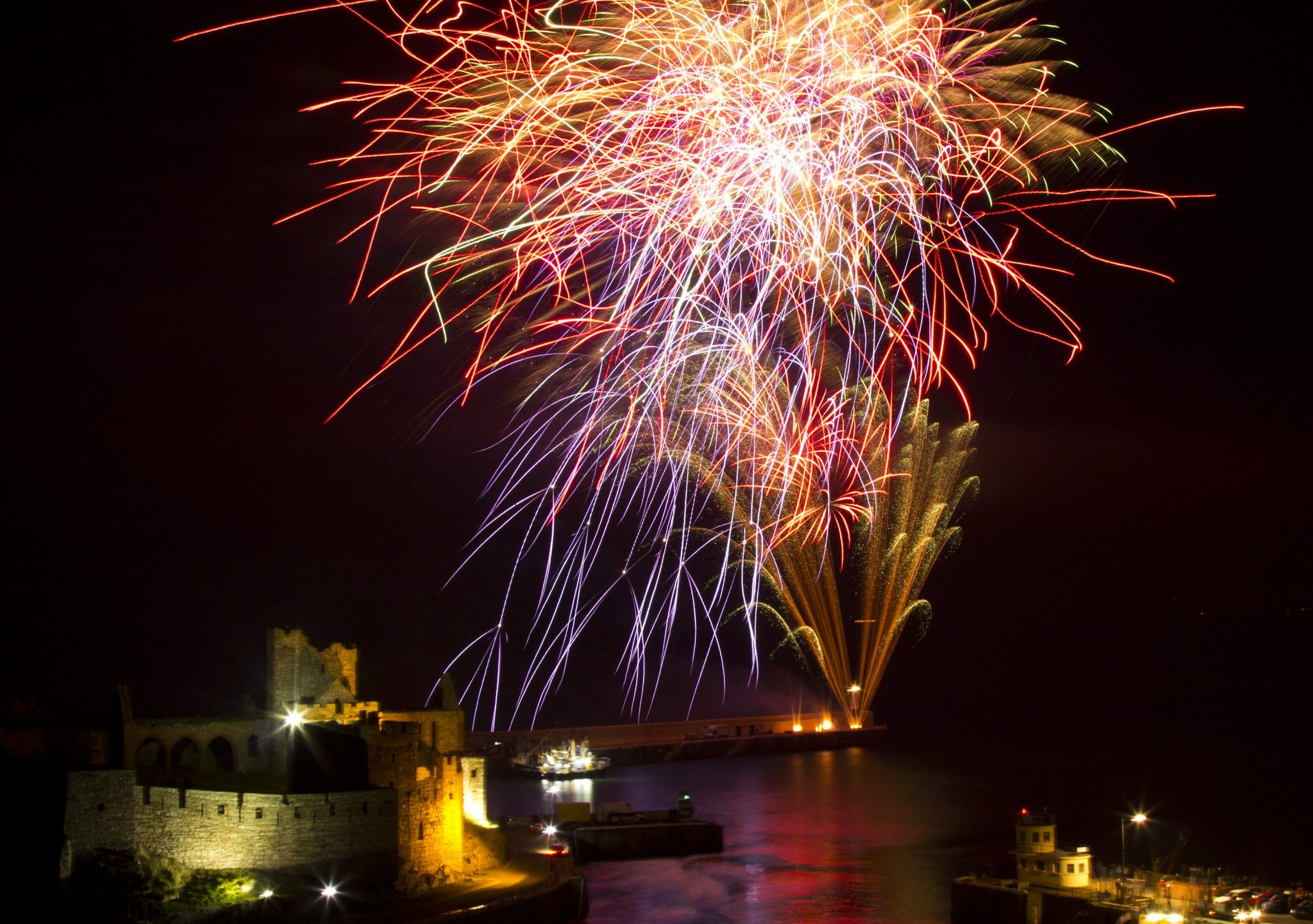 Fireworks by Danni Coombes, winner of 2015 photo competition